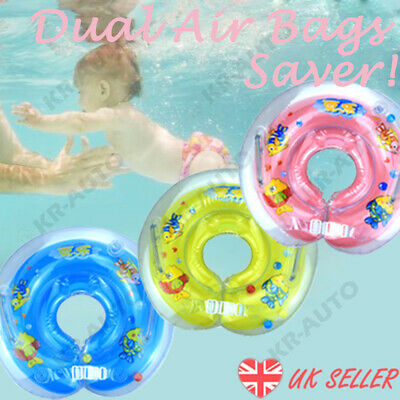 Mother Baby Swimming Float Ring Toddlers Inflatable Pool Ring Early Learning UK