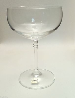 Set 18 New Belfor And Co Bohemia Crystal Champagne Bowl Glasses 2421/3sk 10 oz