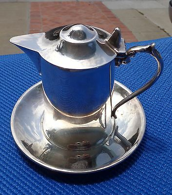 Creamer Wallace M 616 w attached Plate Base Silver plate
