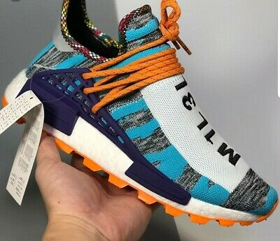 a3875149b6d5e Adidas Solar HU NMD Pharrell Williams Pack Orange 10.5 US Men.