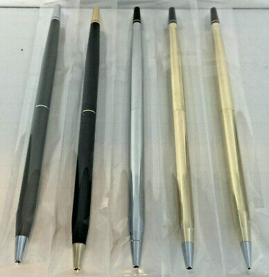 New Classic Century Desk Set Replacement Pen/Pencil In Gold Chrome Black Or Gray