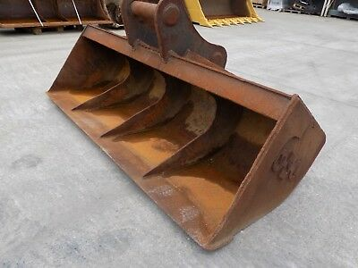 96 Inch Ditching / Bucket To Suit Doosan Dx340 On 100 Mm Pins/ Uk Delivery Inc