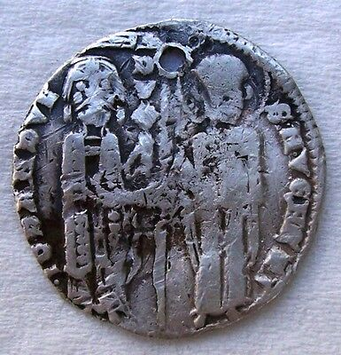 Ancient and Medieval Venetian Coin - venice coin - silver coin in fine condition