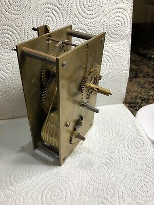Antique Clock Fusee Movement Working