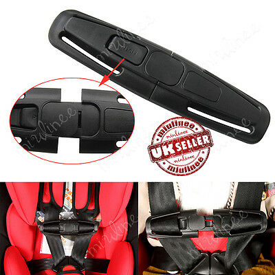 Baby Car Safety Seat Clip Strap Buckle Child Toddler Chest Harness Safe lock