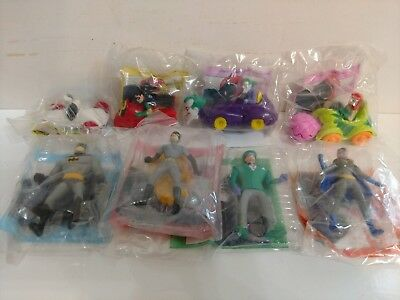 Batman The Animated Series McDonald's Happy Meal Action Figures & Boxes 1993 NIP