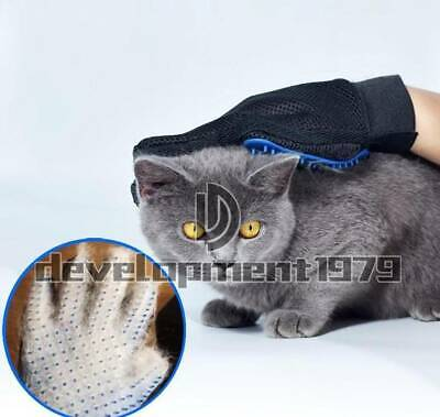 Brush Loose Hair Remover Fur Massage Removal Tool Pet Grooming Glove for Dog Cat