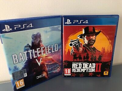 Battlefield V e Red Dead Redemption II PS4- COMBO -