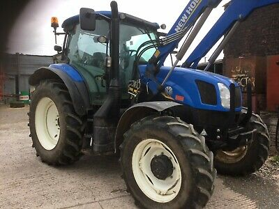 NEW HOLLAND T6 155 Electro Command Excellent 50 K 2,600 Hrs With Loader  (Cld)