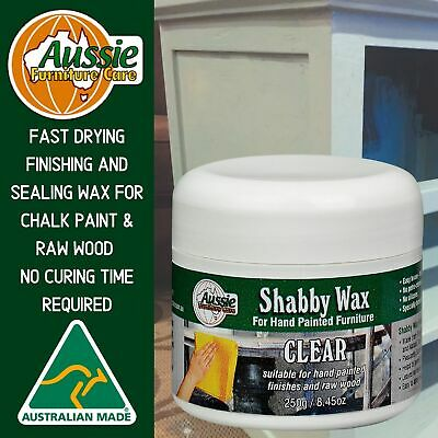 Wax for Chalk Paint-Finishing Wax-Furniture Wax Clear 250gr