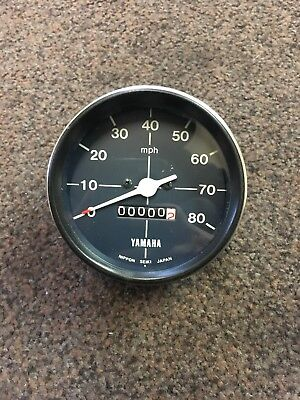 Genuine New Old Stock Yamaha RX100/125 Speedometer