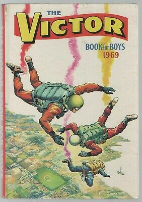 The Victor Book for Boys 1969 (Hardback Annual)
