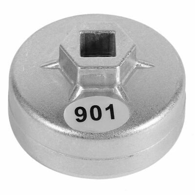 65mm 14 Flutes Cap Oil Filter Wrench Car Socket Remover Tool For Honda silver AU