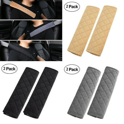 Car and Pram Safety Seat Belt Strap Shoulder Cover Harness Pad Pads Pack of 2 UK