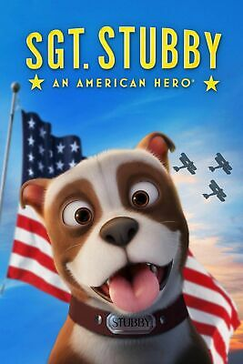 Sgt Stubby: An American Hero DVD (region 1 us import) USED, IN GOOD CONDITION.