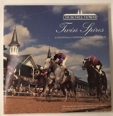 $15 & $25 Churchill Downs Centenn. 1995 Twin Spires Phone Cards