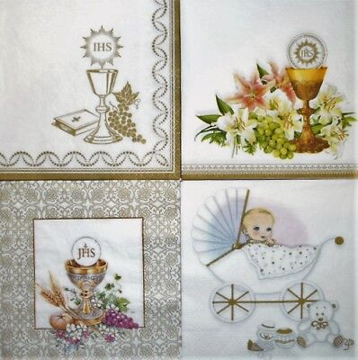 4x Die Cut Silver Foil Decoupage Sheets Happy Birthday With Love Celebrate AM161