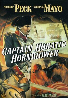 CAPTAIN HORATIO HORNBLOWER DVD (region 1 us import) USED, IN GOOD CONDITION.