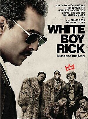 WHITE BOY RICK DVD (region 1 us import) USED, IN GOOD CONDITION.