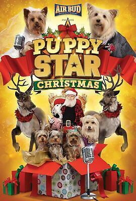 Puppy Star: Christmas DVD (region 1 us import) USED, IN GOOD CONDITION.