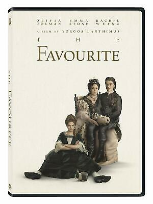 The Favourite 2019 DVD (region 1 us import) USED, IN GOOD CONDITION.
