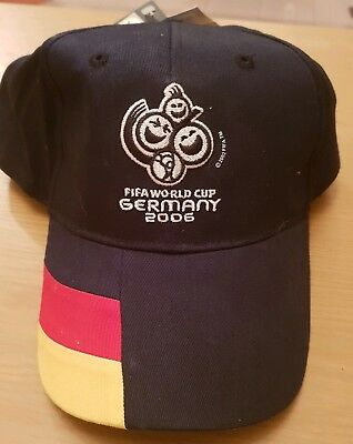 GERMANY 2006 FIFA World Cup Cap New and Tagged