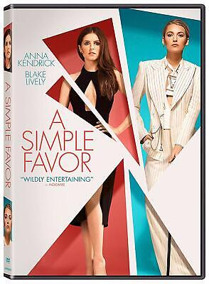 A Simple Favour DVD (region 1 us import) USED, IN GOOD CONDITION.
