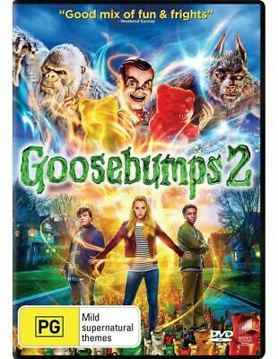Goosebumps 2 DVD (region 1 us import) USED, IN GOOD CONDITION.