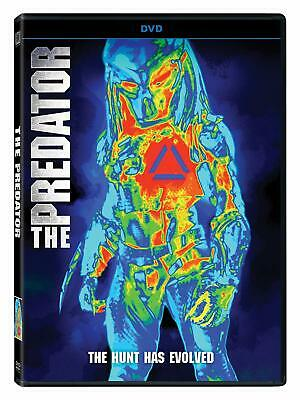 The Predator DVD 2018 (region 1 us import) USED, IN GOOD CONDITION.