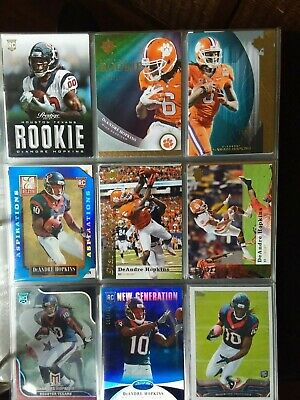 850+ High End Card Lot Football, Baseball Rookies, Game Used/Auto Texans, More!