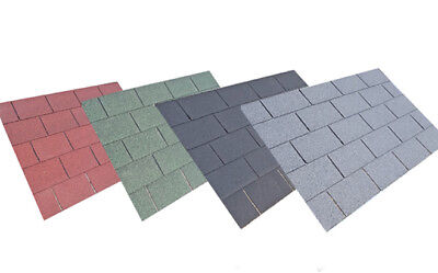 Square Felt Roofing Shingles   Shed Felt Shingles   3m2 and 2m2 packs available