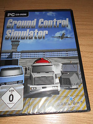 GROUND CONTROL SIMULATOR - PC - deutsch - Neu / OVP - EUR 4