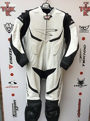 Macna One Piece Race suit with hump uk 46 euro 56