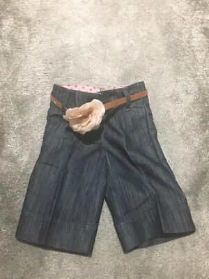 NEXT Girls Denim 3/4 trousers size 4 yrs