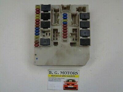 renault clio mk 3 + modus 2006-2012 under bonnet fuse box - 233293