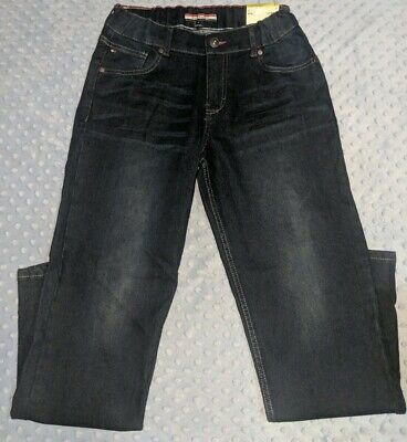 Tommy Hilfiger Athletic Straight Stretch Jeans Dark Wash Size-Youth Boys 28x31