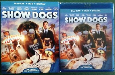 Show Dogs, Blu-ray +DVD +Digital, SEALED FREE SHIP 2018, Will Arnett Ohio seller