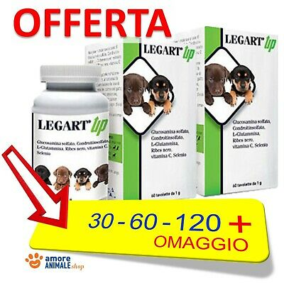 Legart UP 30 / 60 compresse per CANE e GATTO  Integratore cartilagini articolari