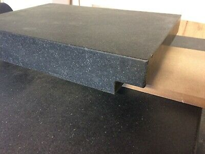 """12"""" x 18"""" x 3"""" Granite Surface Plate Black with 2"""" lip on the ends Table top"""