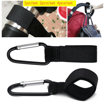 Hanging Durable Stroller Hooks Cart Accessories Shopping Bag Clip Carabiner