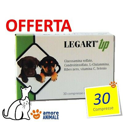 Legart UP 30 compresse per CANE e GATTO - Integratore cartilagini articolari