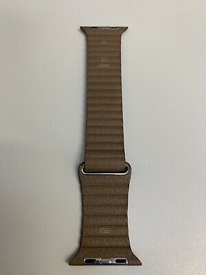 Apple Leather Loop brown magnetic strap size Medium for 42mm / 44mm
