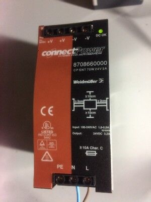 Weidmuller CP SNT 70 W power supply