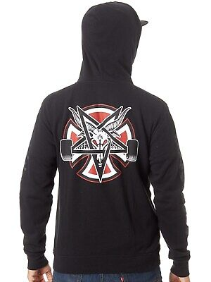 20c34784f57a INDEPENDENT X THRASHER Pentagram Cross (Black) Pullover Hoodie ...
