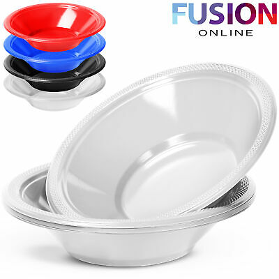 Disposable Plastic Bowls Dessert Soup Catering Party Wedding Birthday BBQ Strong