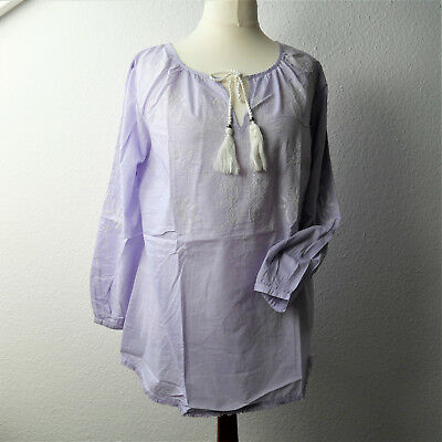 NEU Sheego Shirt Damen Tunika Gr 662 40 bis 58 Flieder