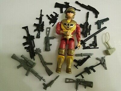 """3.75/"""" Gi Joe  Lanard The Corps Soldier#005 Figure  with 5pcs accessories  Toy"""