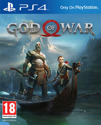 God Of War Ps4 Sony Play Station 4 Videogames Gioco Game Videogioco