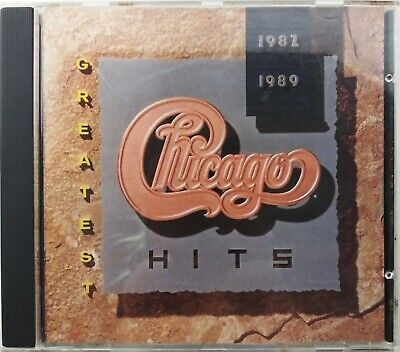 Greatest Hits 1982-1989 by Chicago (CD, Dec-2004, Rhino (Label))
