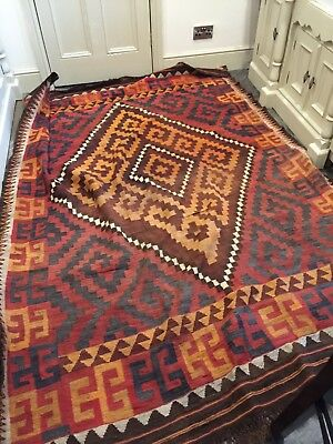Genuine Antique Large Kilim Rug